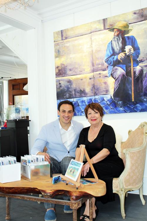 Mickael Casol and Rosina Bucci, Hors Cadre Art Exhibition