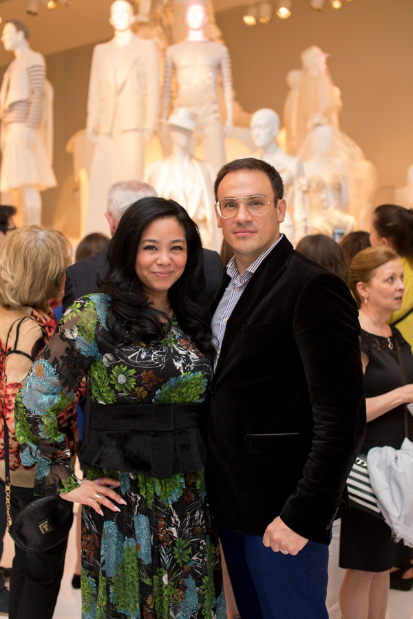 Noriko and Mickaël Casol, Vernissage Love is Love by Jean-Paul Gaultier, Montreal Museum of Fine Arts, May 27, 2017