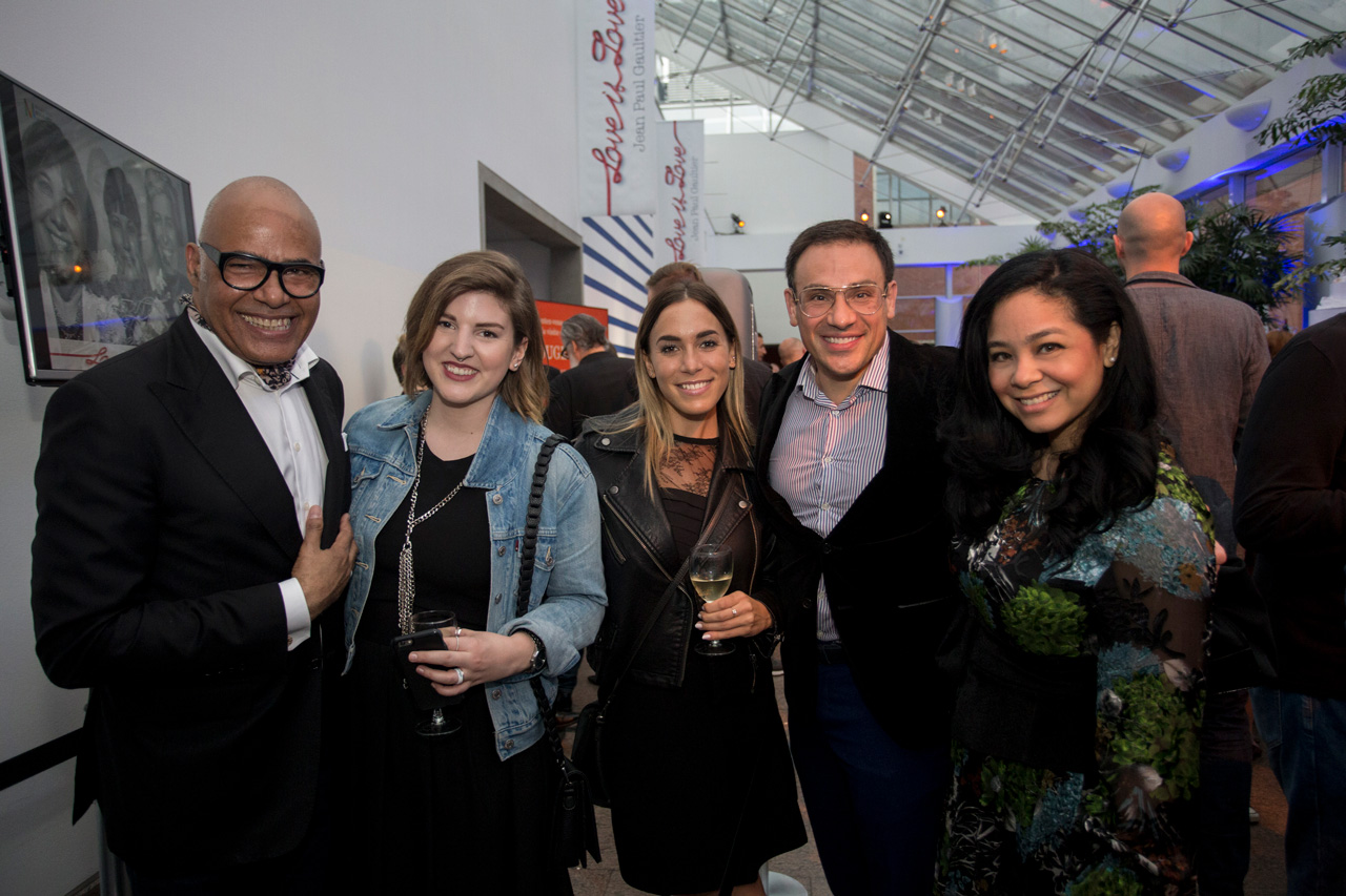 Serge Laviolette, Claire Wheeler, Laurence Guillet, Mickaël et Noriko Casol, Love is Love by Jean-Paul Gaultier, Montreal Museum of Fine Arts, May 25, 2017