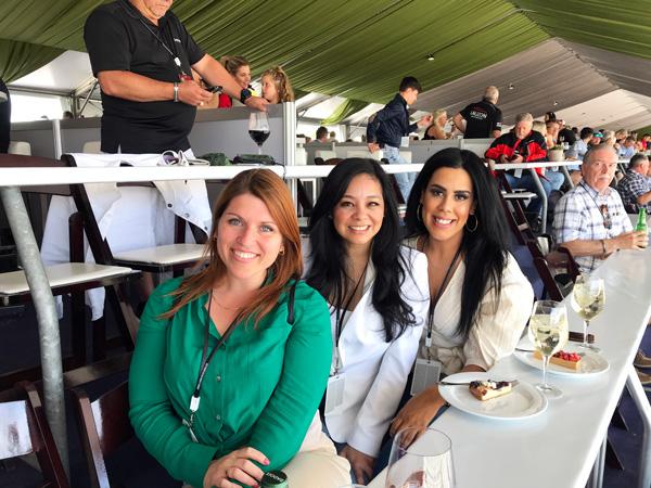 Véronic Leblanc, Noriko Casol, Cristina Hernandez