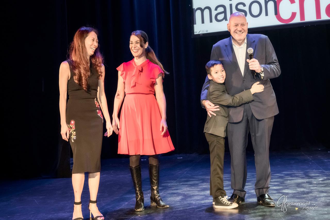 Noriko and Mickael Casol, Jean-Pierre Desrosiers, Maison Chance
