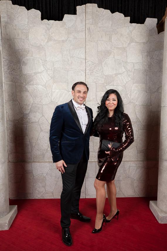 Mickael and Noriko Casol, November 14, 2018, Opera de Montreal