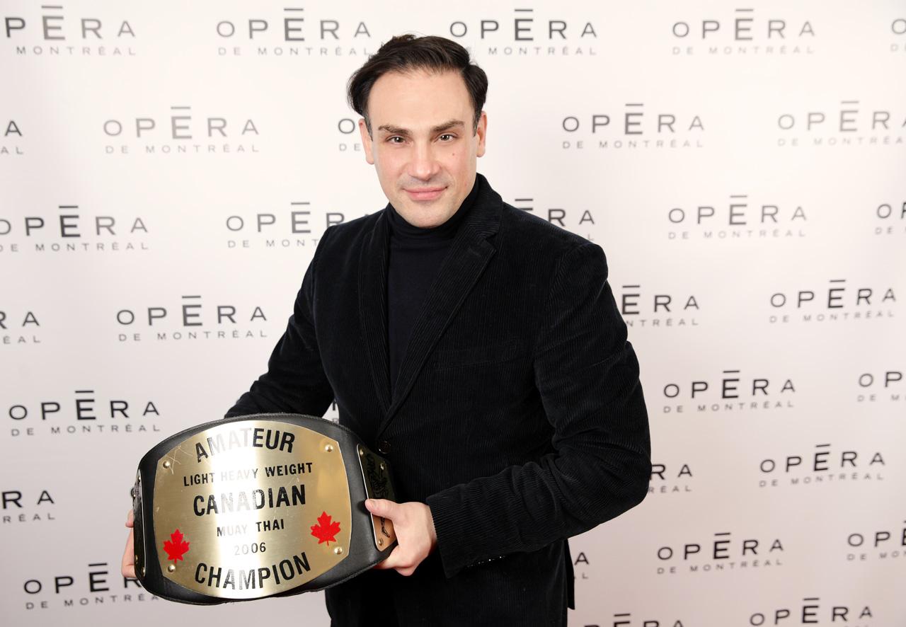 Mickaël Casol, Champion, Opéra de Montréal