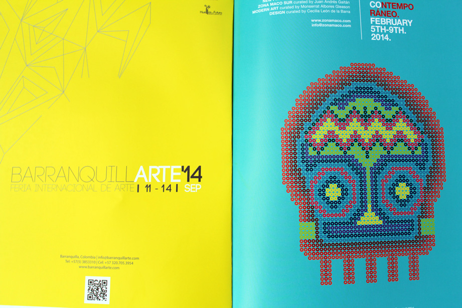 BaranquillArte 2014, Colombia and Zona Maco, Mexico Contemporary Art Fairs