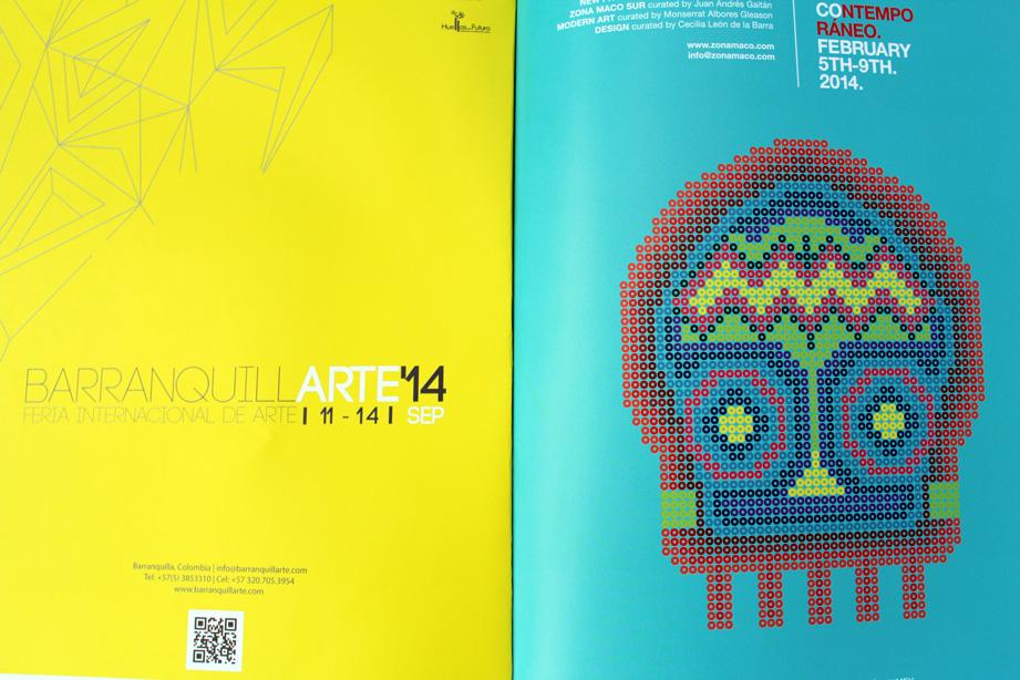 BaranquillArte 2014, Colombia and Zona Maco, Mexico Contemporary Art Fairs