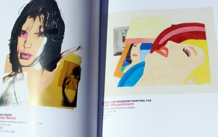 Andy Warhol and Tom Wesselman