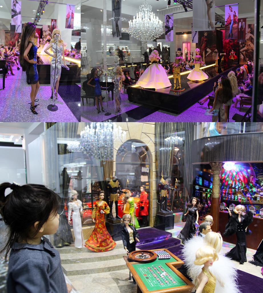 Valentina Casol - Barbie Exposition in Montreal