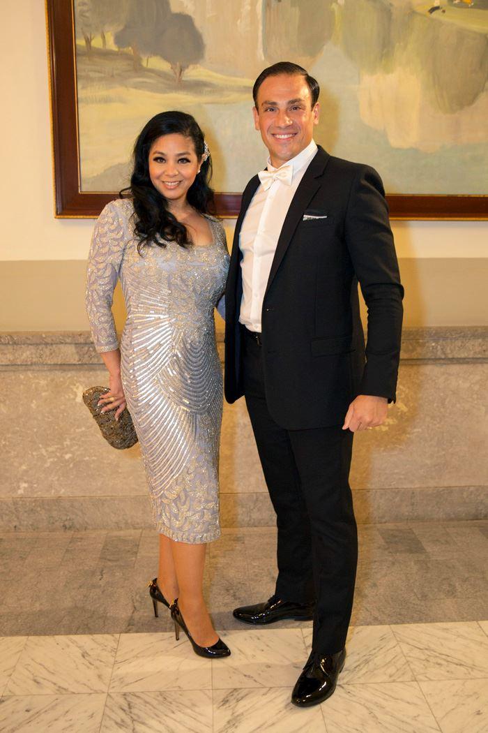 Noriko & Mickael Casol at the Charles & Marisa Bitton Wedding
