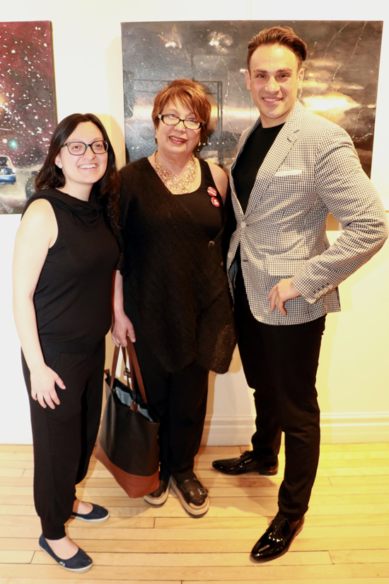 Rosina Bucci Art Exhibition