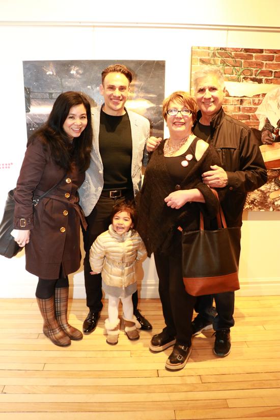 Noriko, Valentina & Mickael Casol, Rosina Bucci and Antonio Diverdis