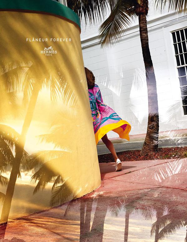 Hermes Spring / Summer 2015 Ad Flaneur Forever