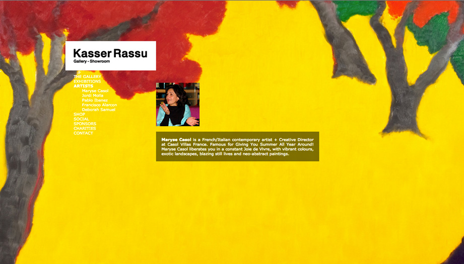 Maryse Casol, Kasser Rassu Gallery, Marbella