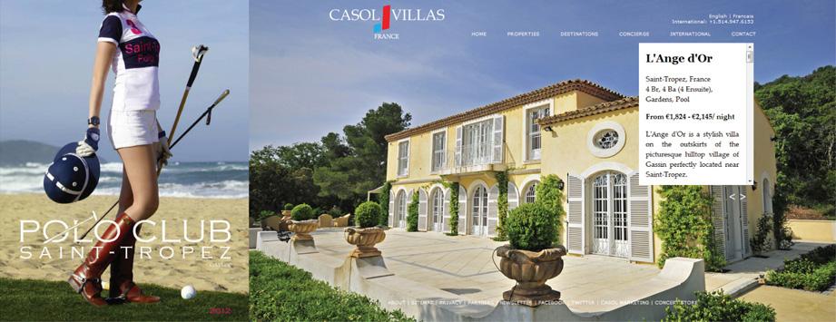 Polo Club Saint-Tropez et Villa L'Ange d'Or de Gassin