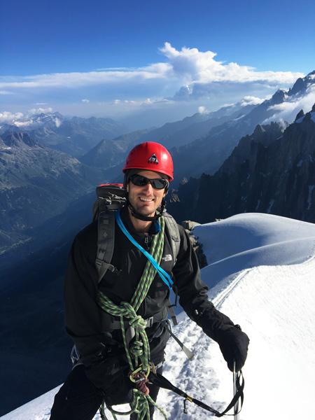 Antoine Labranche, Mont-Blanc, France, 2016