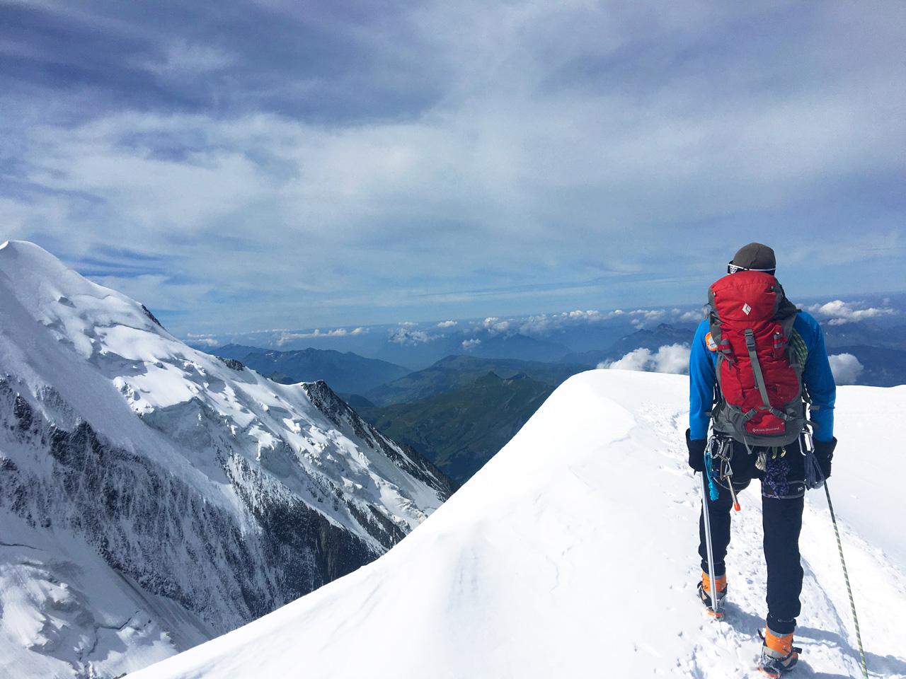 Antoine Labranche Alpinism, Mont-Blanc, France, 2016