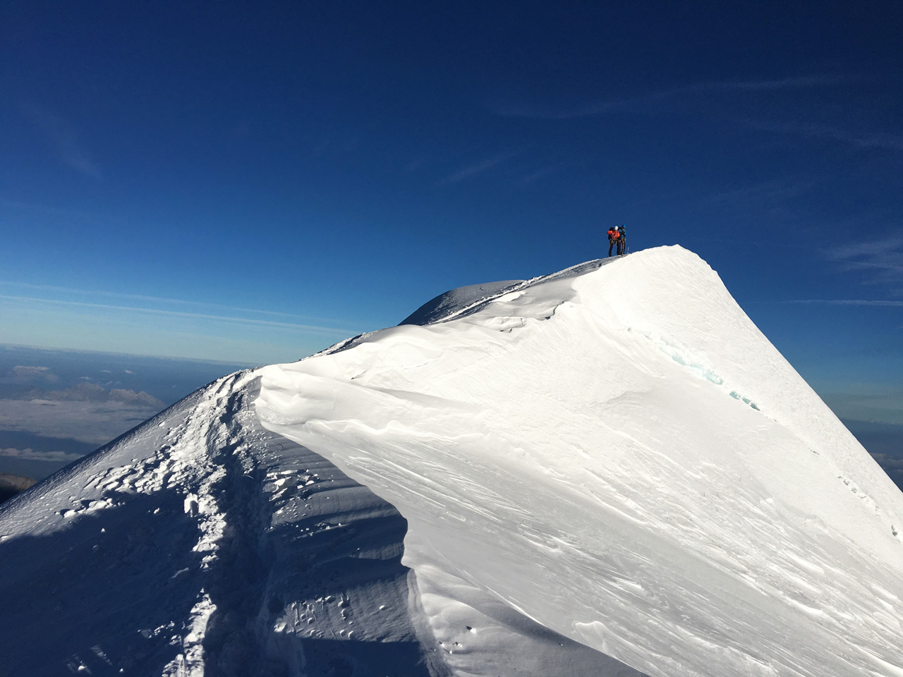 Antoine Labranche, Mont-Blanc, Alps, France, 2016