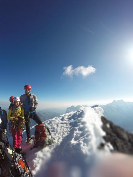 Antoine Labranche Eiger Summit