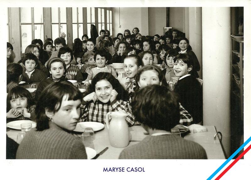 Maryse Casol, La Cantine, 1965