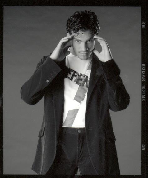 Mickael Casol, Aout 2002, Specs Agence de Mannequins, Montreal, Canada