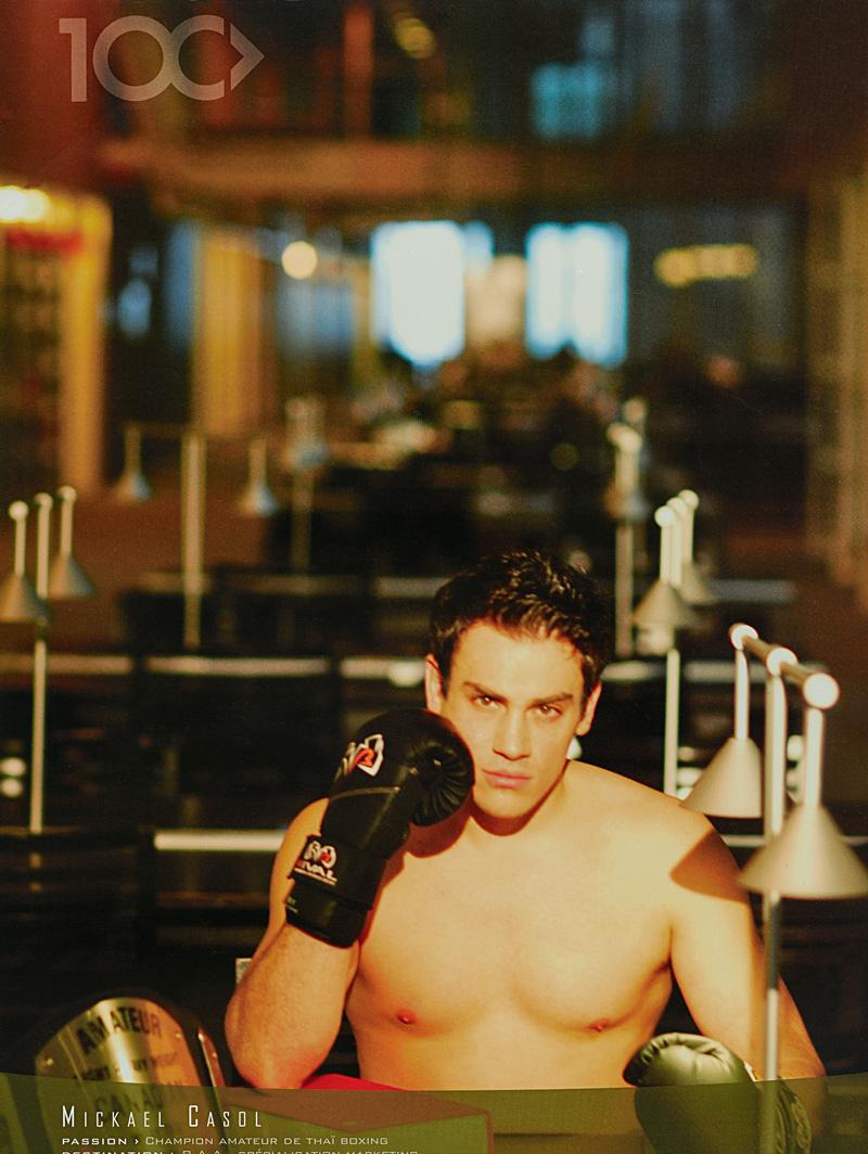 Mickaël Casol, Champion Canadien Boxe Thai, Calendrier HEC Montreal 2007