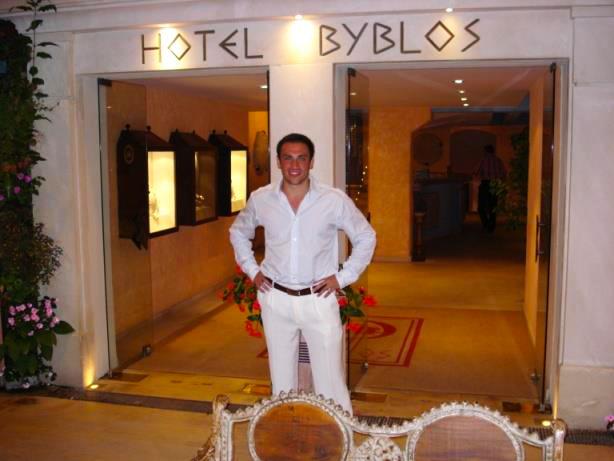 Mickaël Casol, Hotel Byblos Saint-Tropez, Côte d'Azur, France, 2007