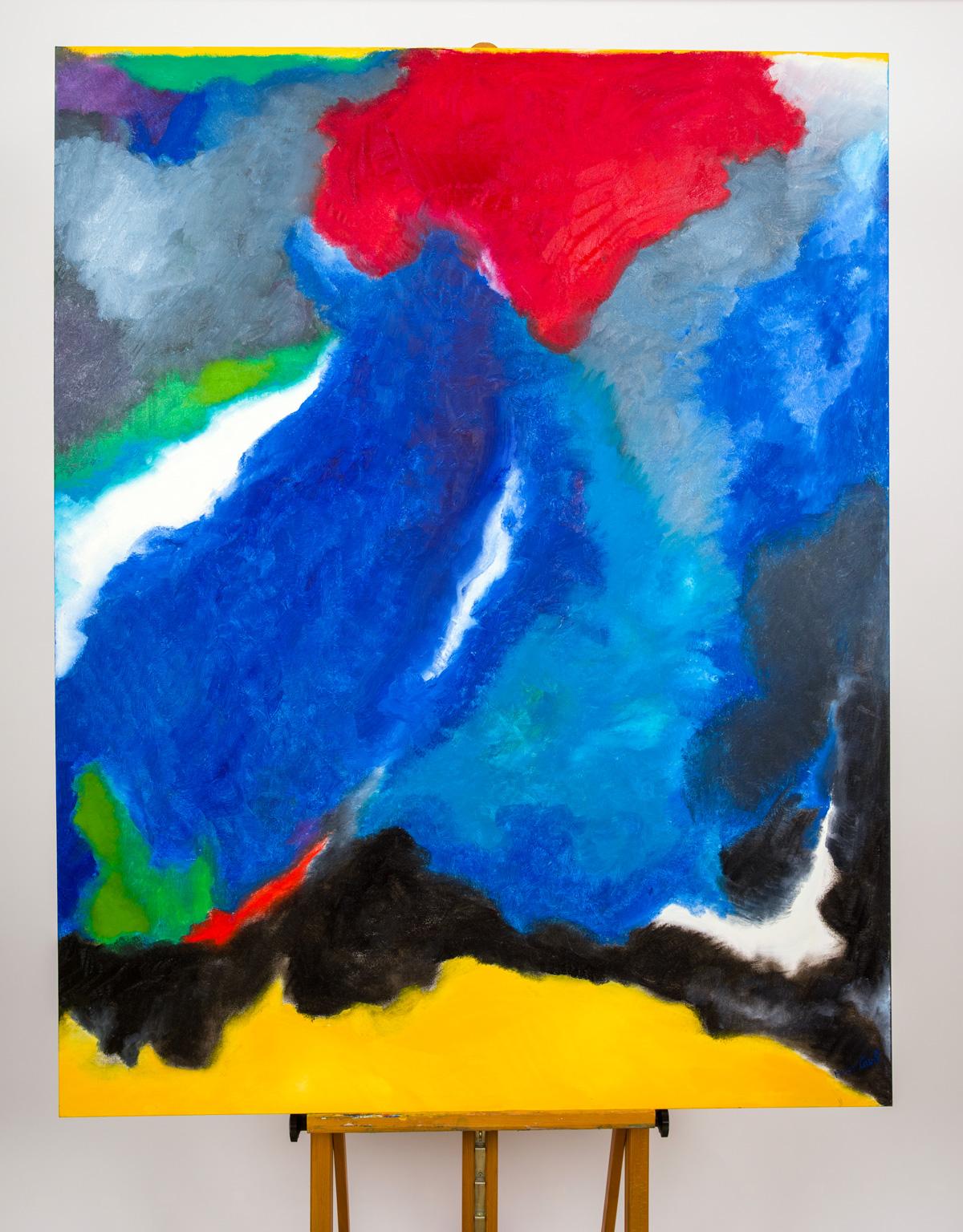 Maryse Casol, painting Ceci N'est Pas Un Arbre X, 2015