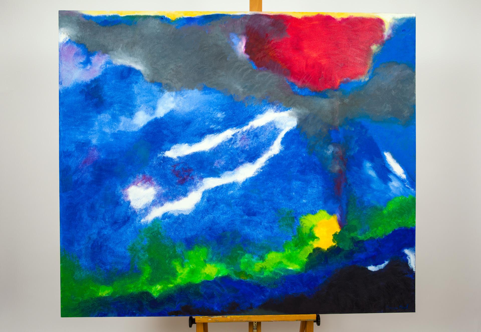Maryse Casol, painting Ceci N'est Pas Un Arbre IX, 2014