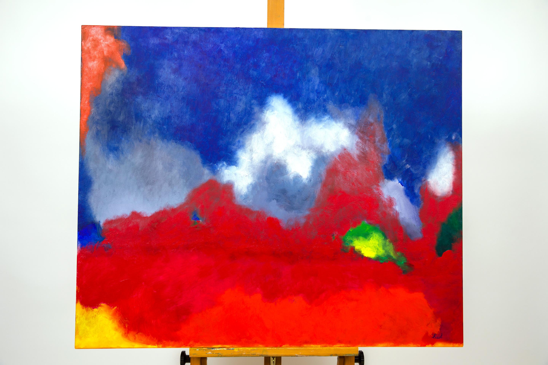 Maryse Casol painting Lumière Tourmaline, 2016