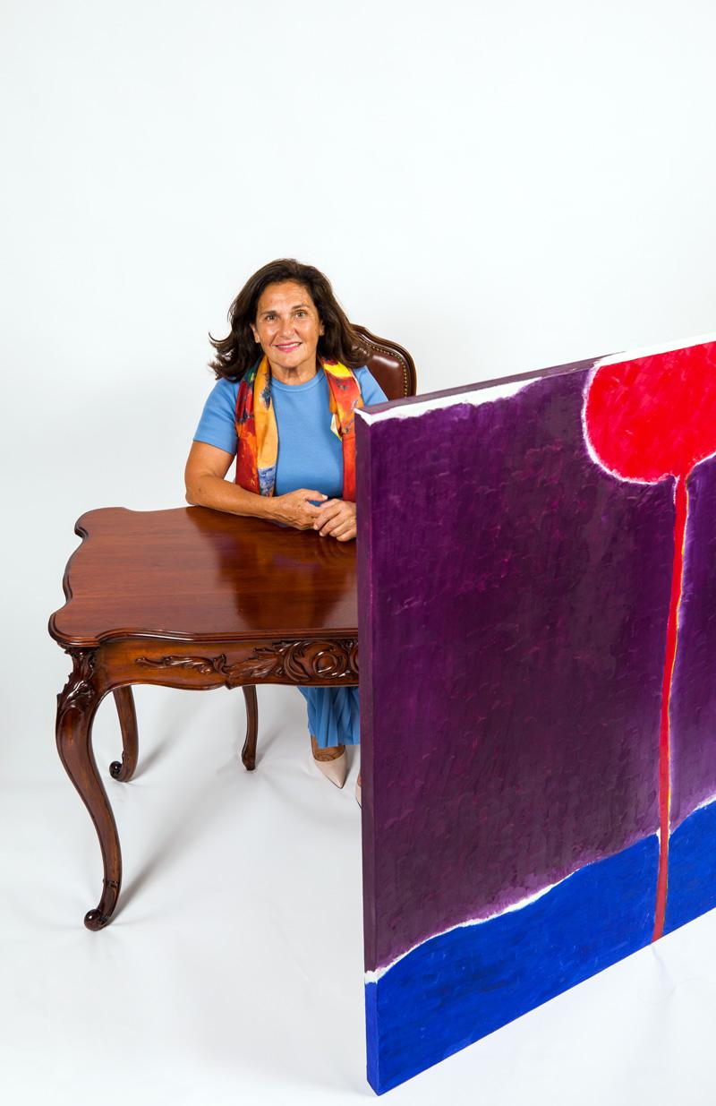 Maryse Casol art studio, August 7, 2021 photoshoot with Denis Boisvert