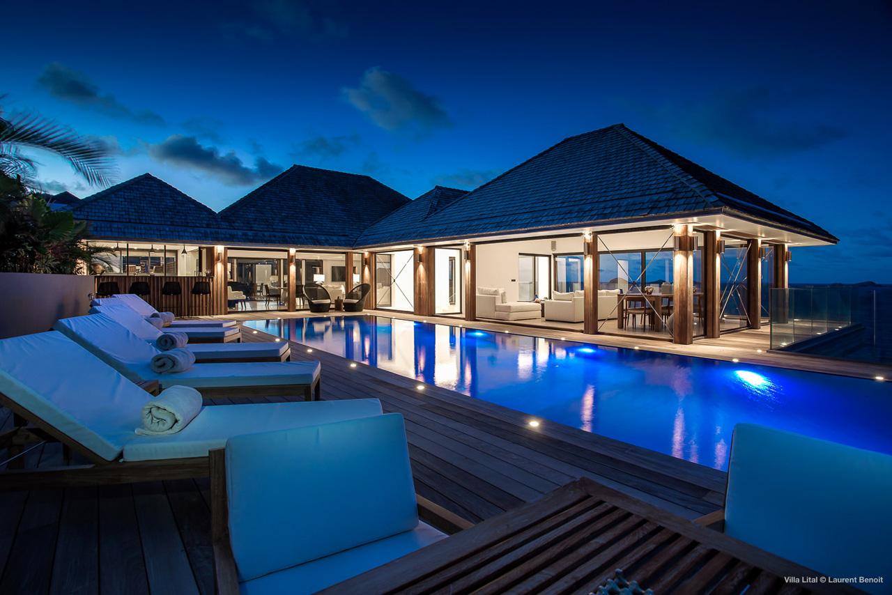 Villa Lital, St-Barts, Caribbean