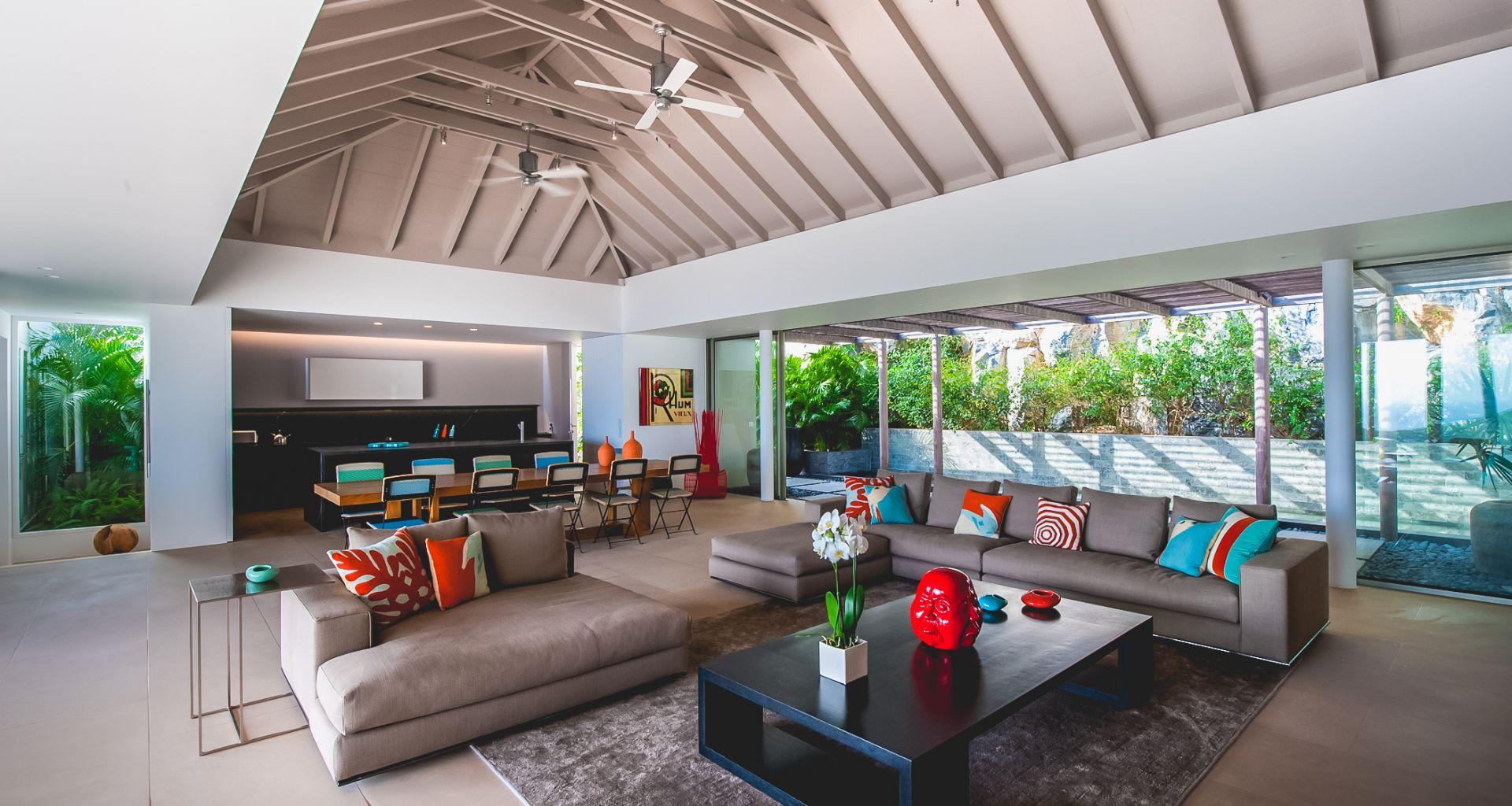 Villa Lina, St-Barts, Caribbean