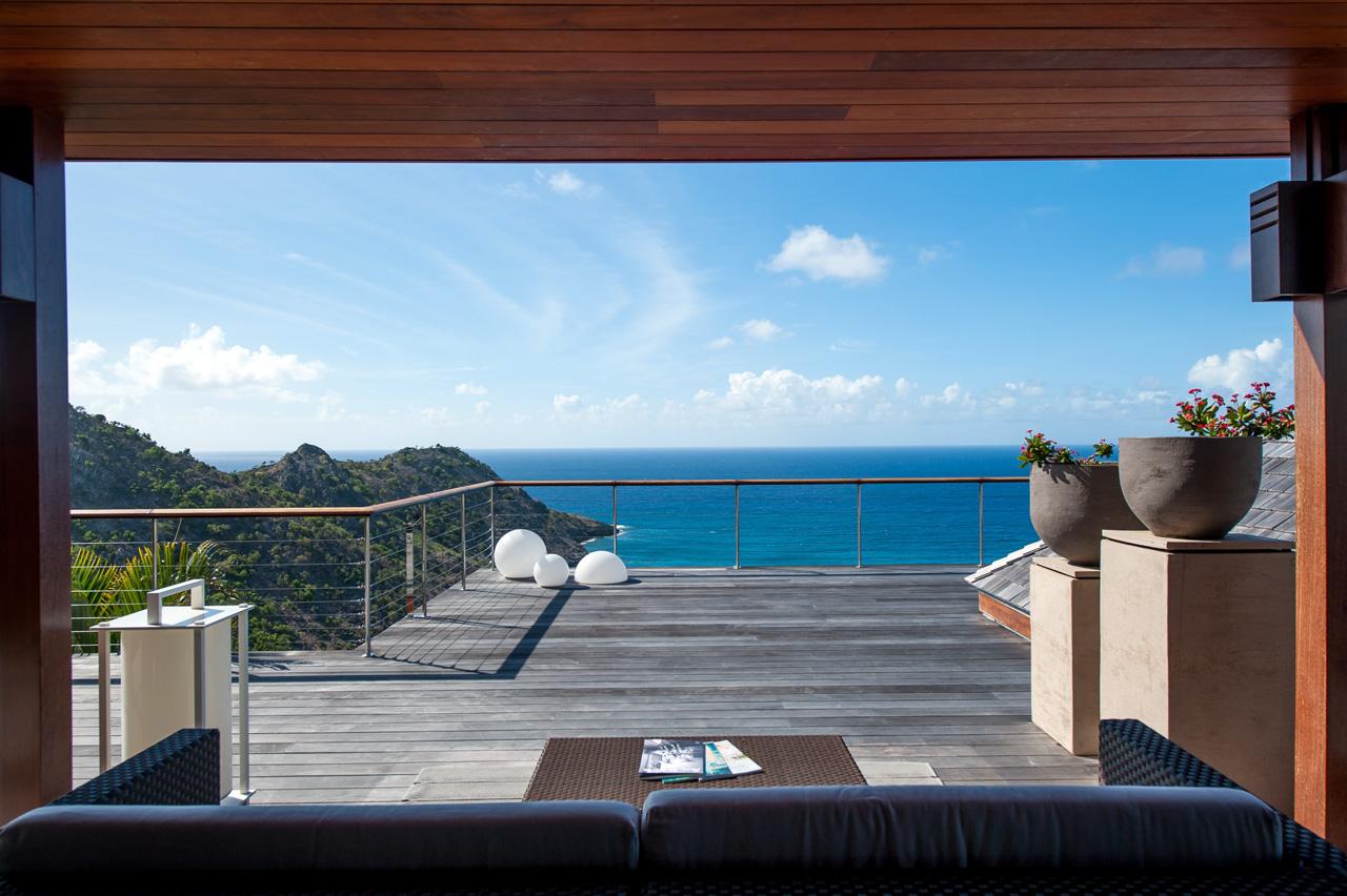 Villa Blue Dragon, St-Barts, Caribbean