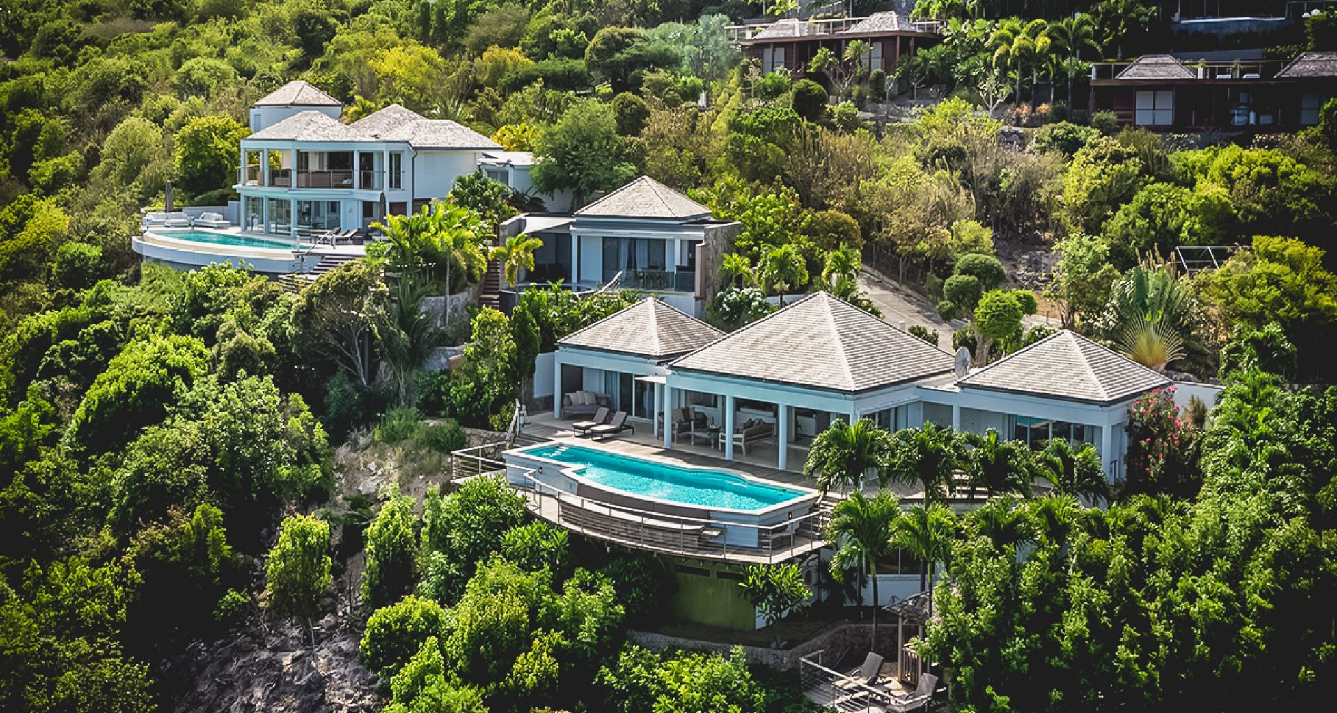 Villa gouverneur view st barts caribbean casol villas for St barts in the caribbean