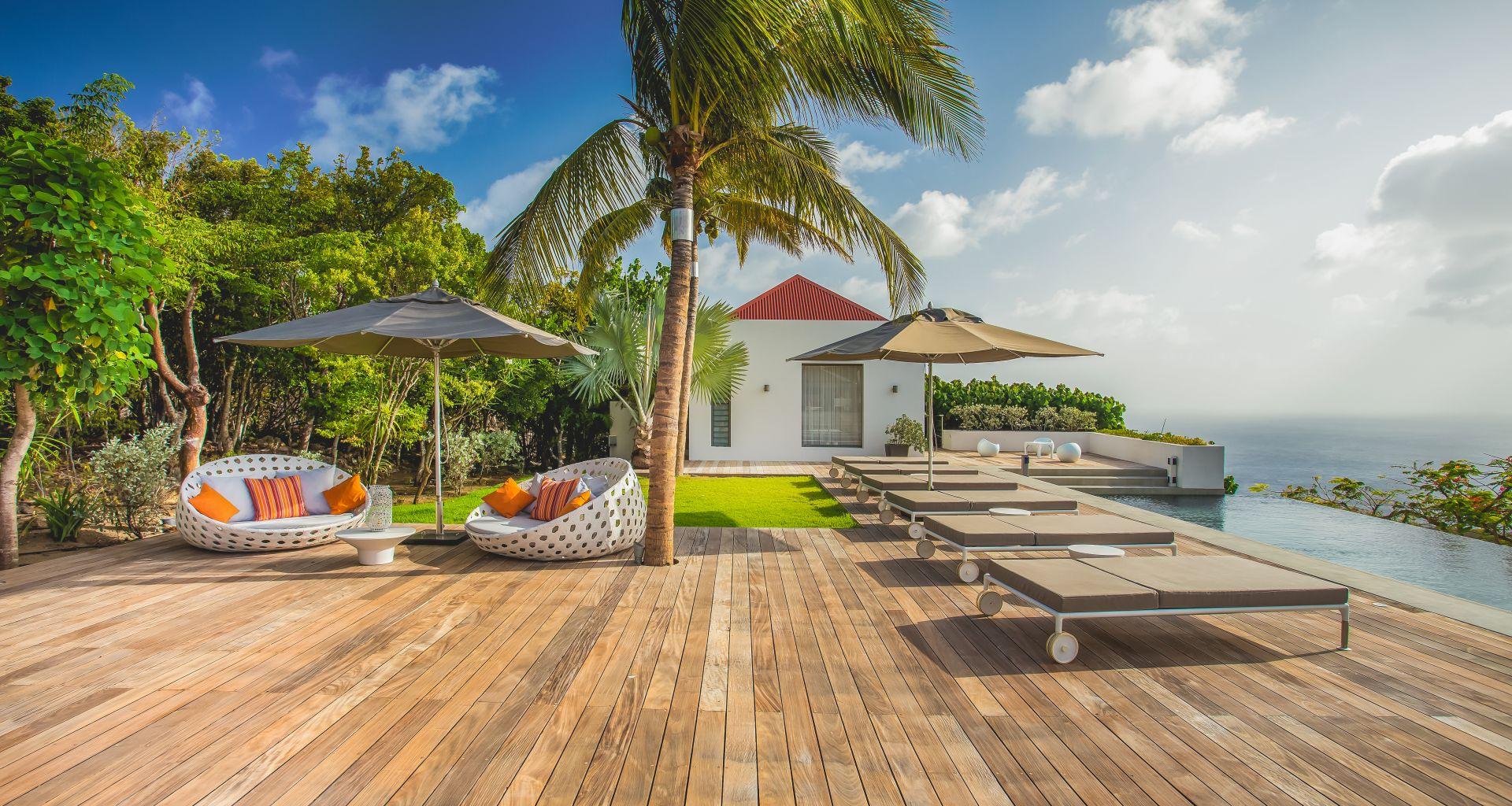 Villa Palm Springs St Barts Caribbean Casol Villas France