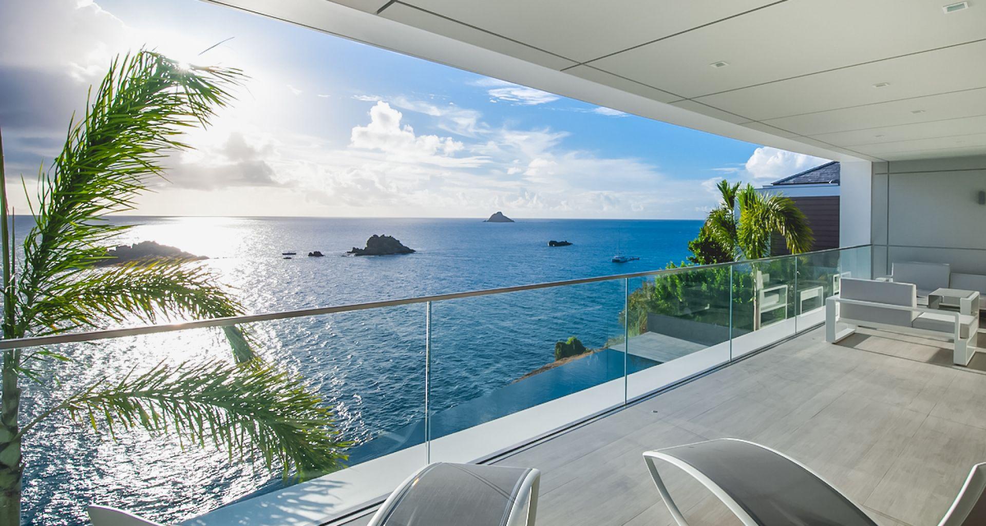 Villa Axel Rocks, St-Barts, Caribbean