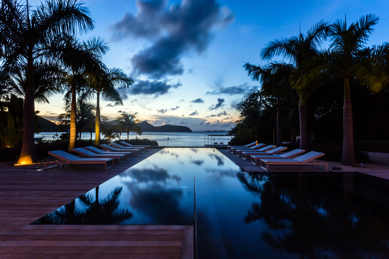 Villa Palm Beach, Lorient Beach, St-Barts Villa Rental, Caribbean