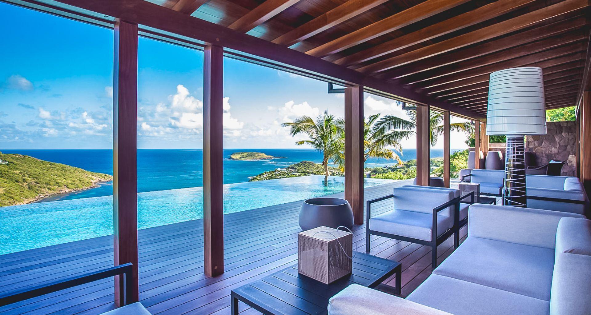 Villa Joy, St-Barts, Caribbean