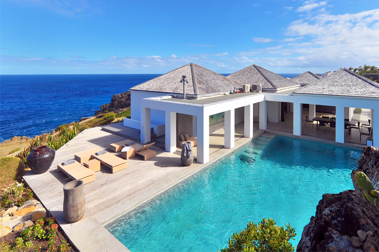 Casa Del Mar St Barts Beach Villa For Rent Casol Villas