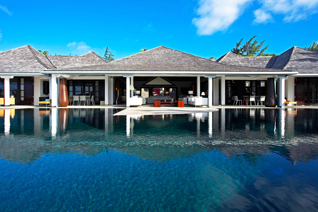 Villa for rent in St-Barts