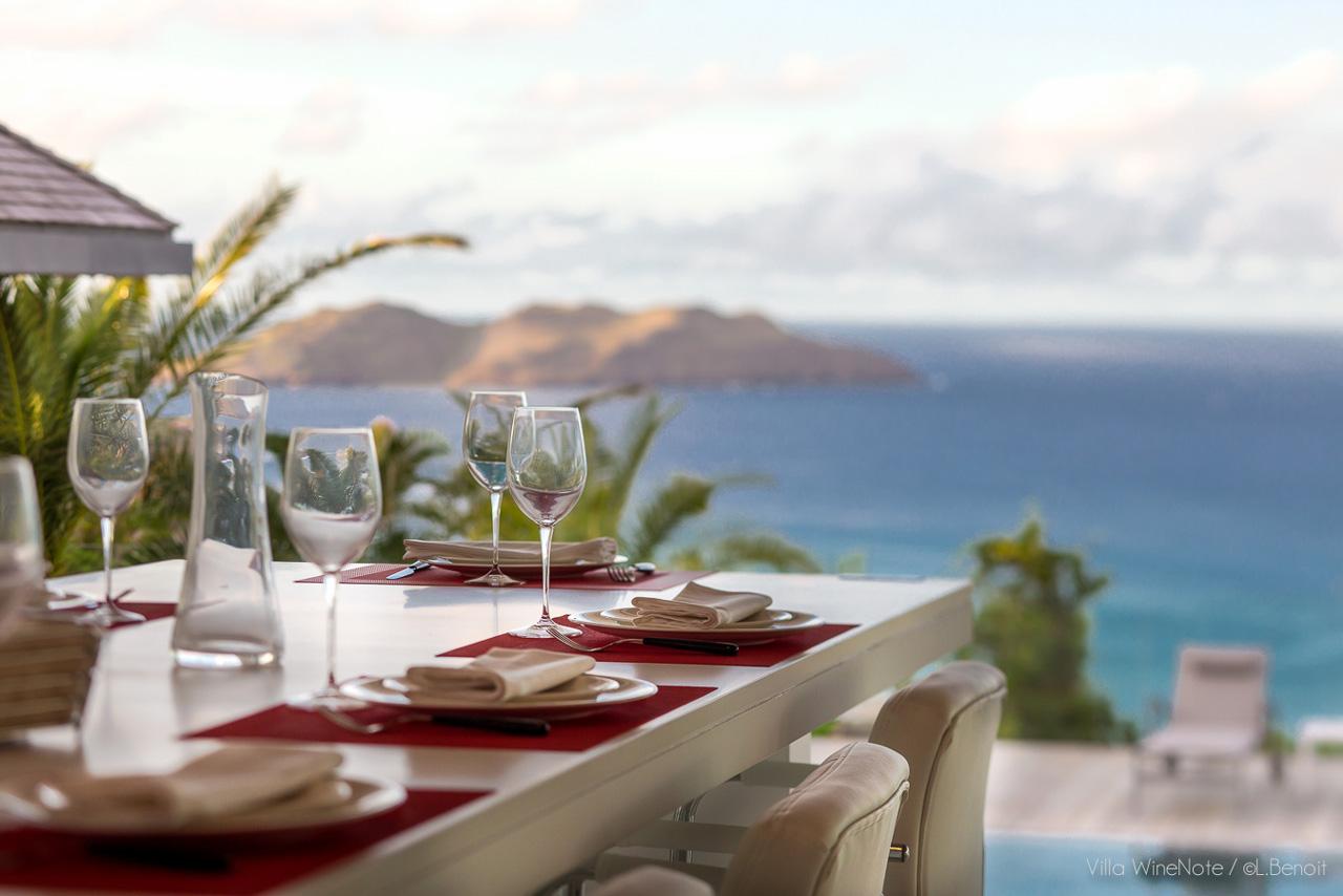 Villa Wine Note, St-Barts, Caribbean