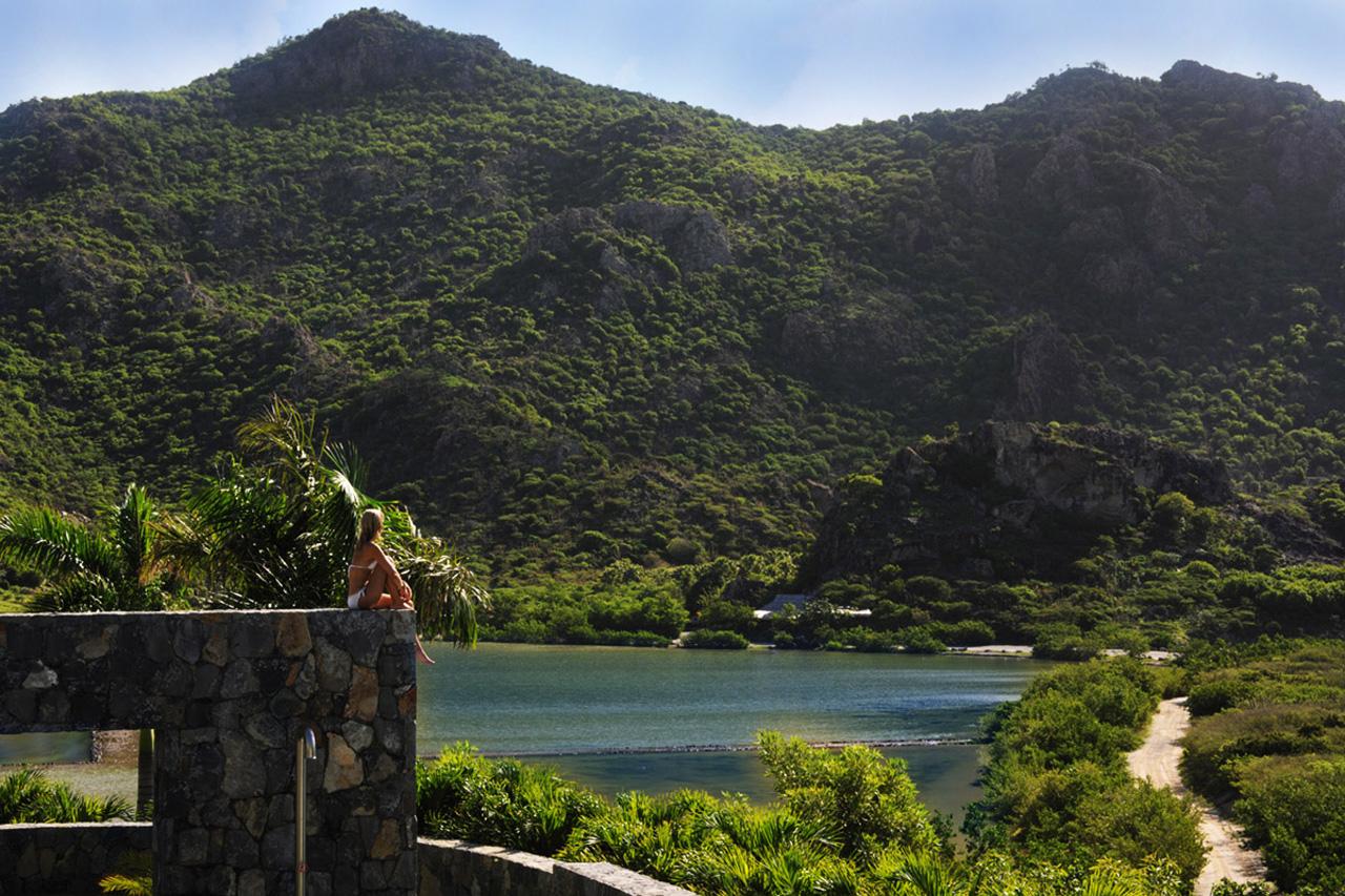 saline beach, st-barts villas for rent / caribbean / casol villas