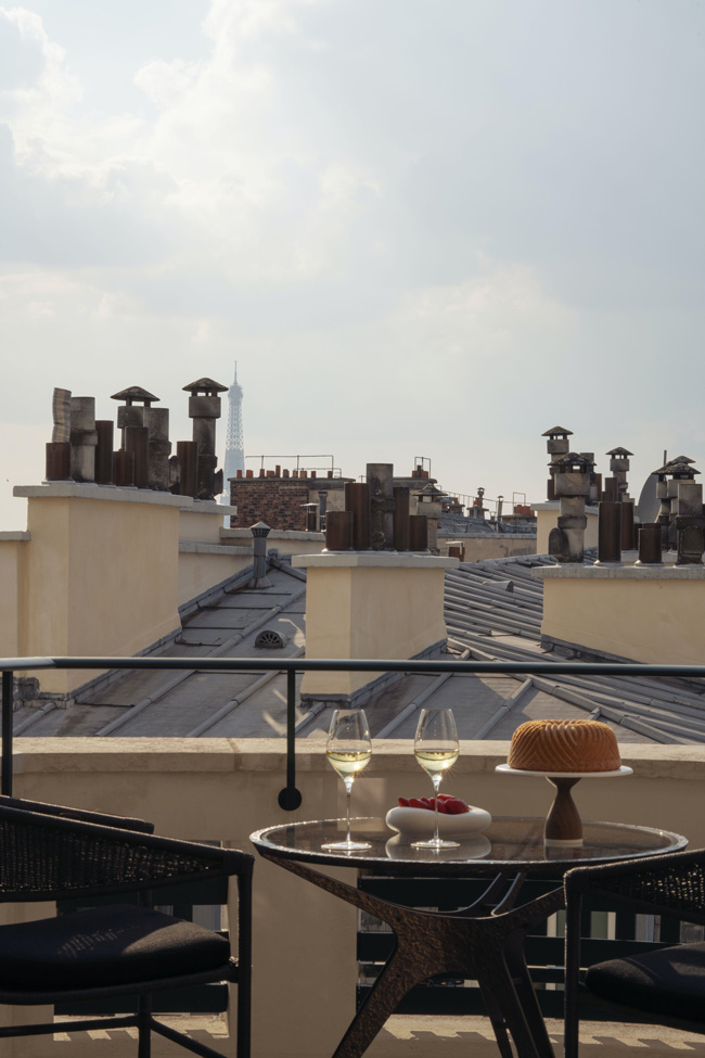 Cheval Blanc Paris, Luxury Hotel France, Balcony Deluxe Room, Casol