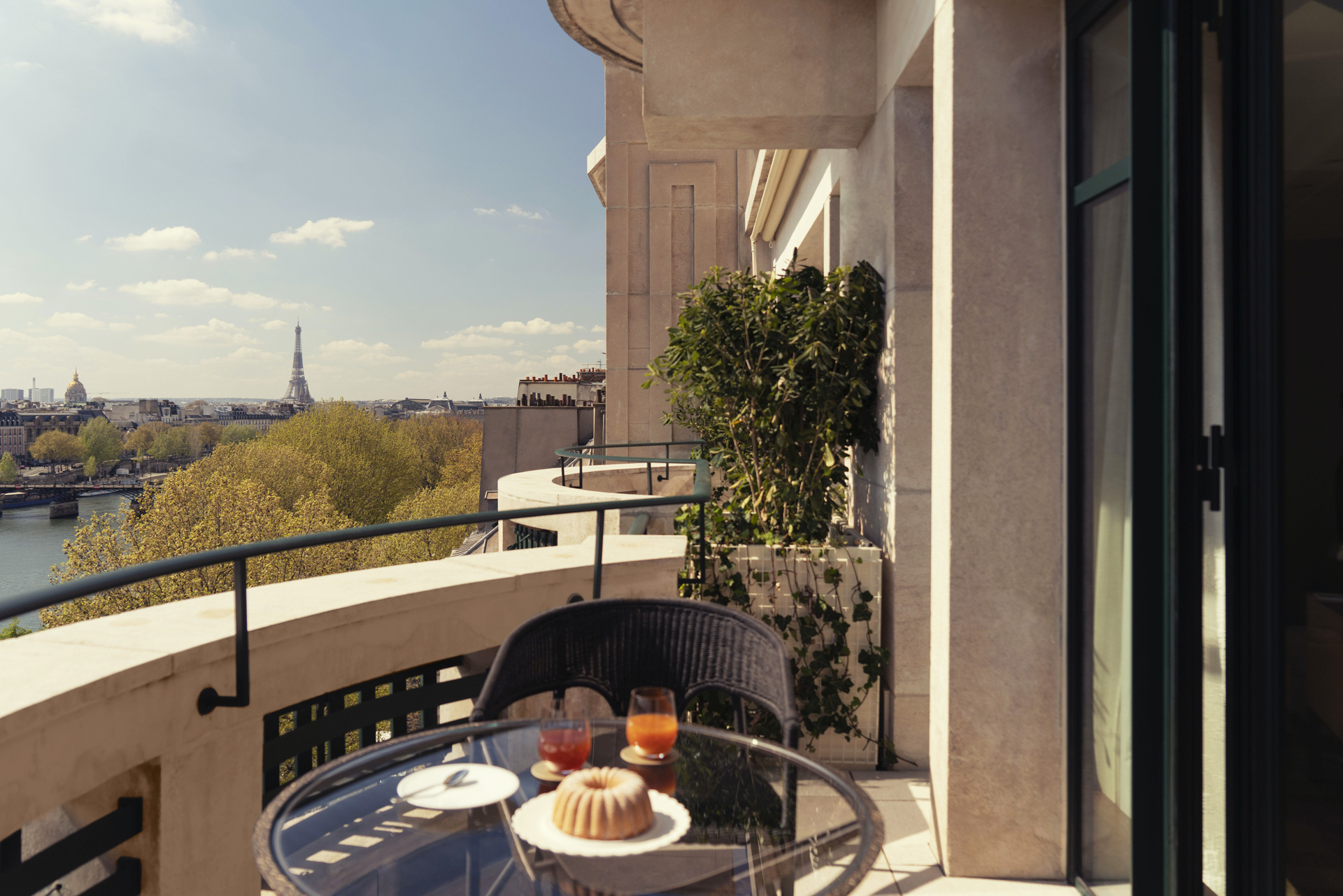 Cheval Blanc Paris, Hotel de luxe France, Balcony Junior Suite, Casol