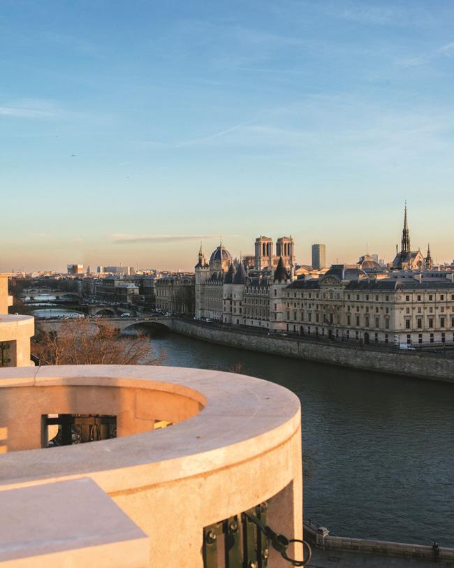 Cheval Blanc Paris, Luxury Hotel France, Suite Ravel, Casol