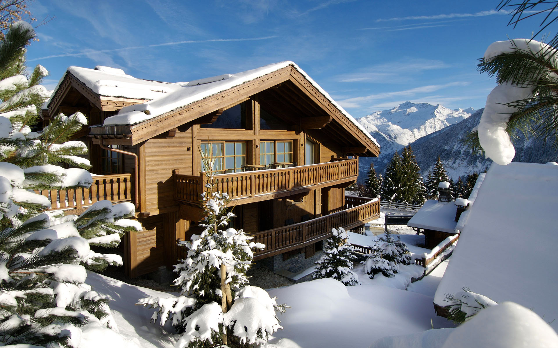 Chalet Le Blanchot, Courchevel 1850, Alpes, France