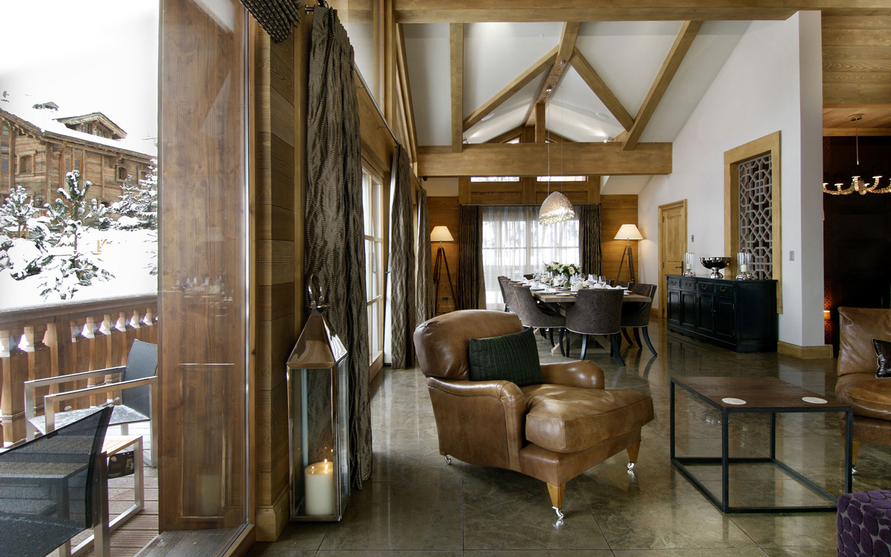 Chalet Blanchot, Courchevel 1850, France