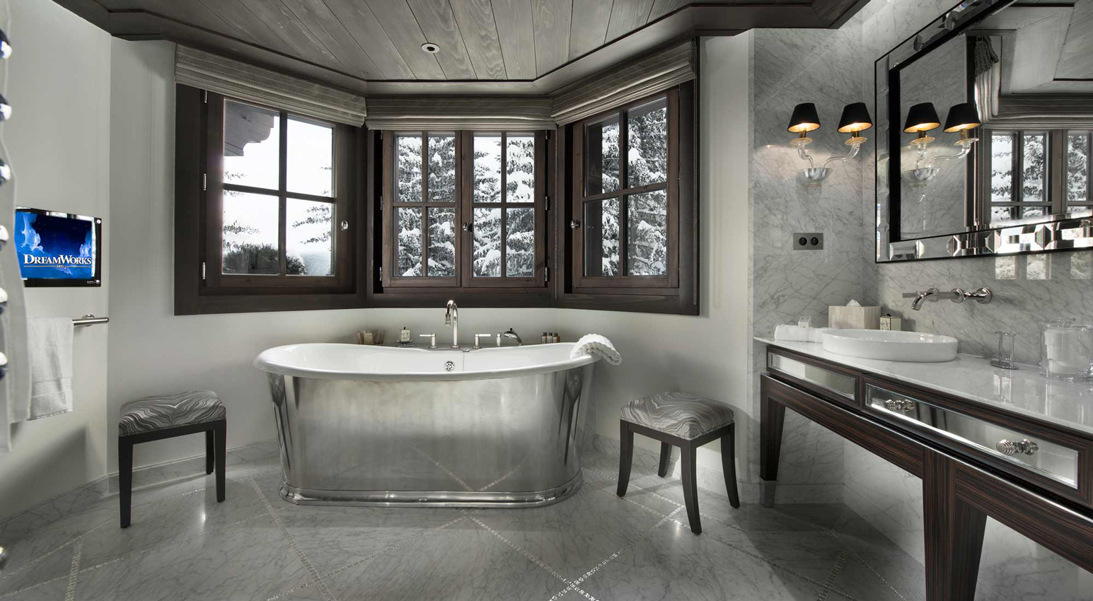 Chalet le Coquelicot, Courchevel 1850, French Alps, France
