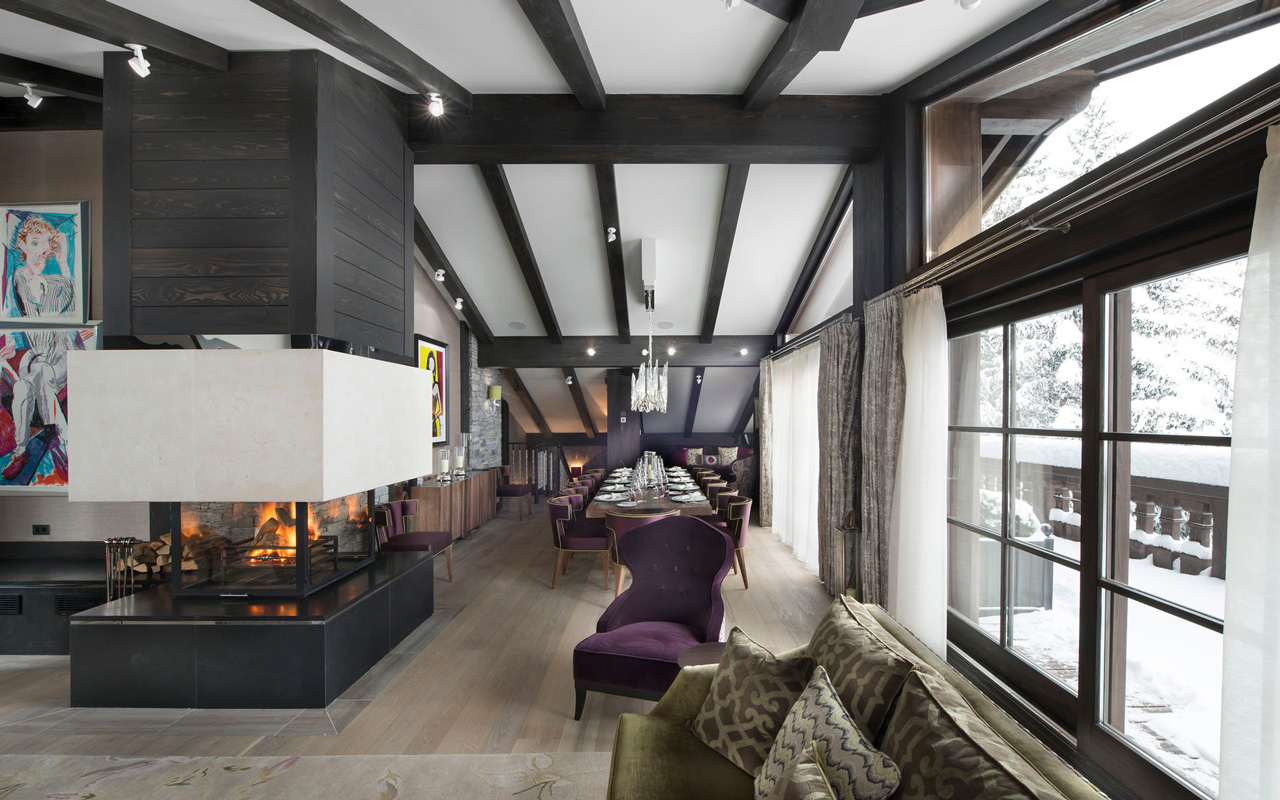 Chalet le Coquelicot, Courchevel 1850, Alpes, France