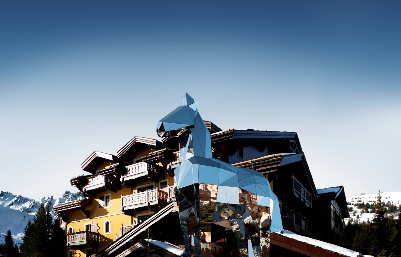 Cheval Blanc, Courchevel 1850, Alps, France