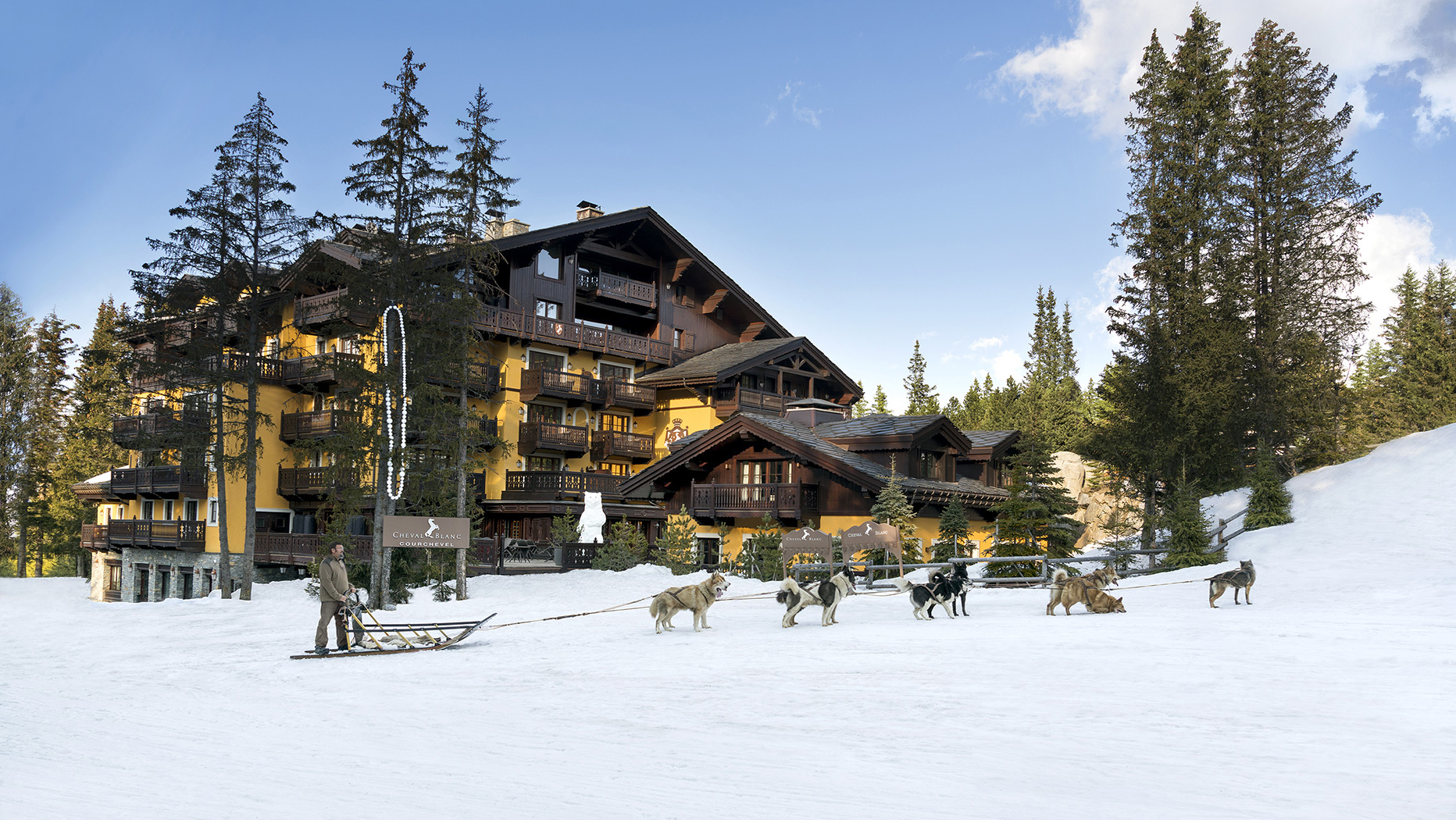 Activities, Cheval Blanc, Courchevel 1850, France